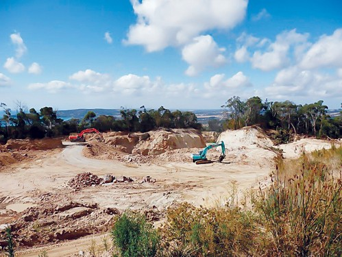 Hillview Quarries new pit