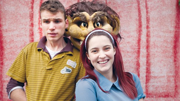 No worries: Nic Hope Denton and Maddy Kelly starred in the stage adaption of the book Go Away Mr Worrythoughts! last year at Frankston Arts Centre. Picture: Yanni