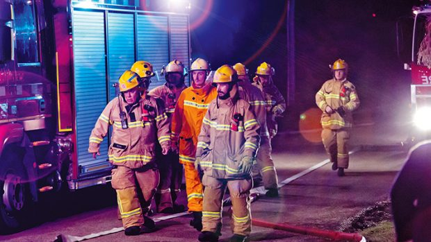 Lucky escape: Firefighters praised the actions of an 88-year-old Rosebud man who helped rescue his 77-year-old neighbour from a house fire in Fourth Ave on 7 May. The potentially deadly blaze was 70 residential fires CFA District 8 fire crews so far this year, four of which have claimed lives. Pictures: Yanni