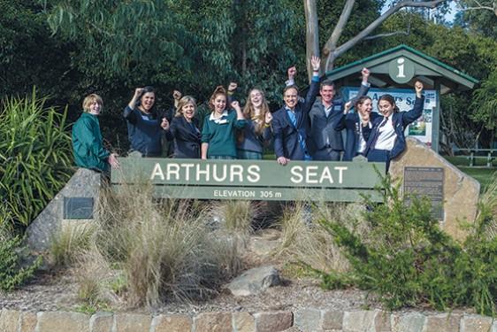 Arthurs Seat Challenge Launch F2D