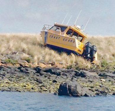Coast guard boat WPN