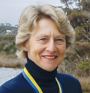 Medalist: Liz Barraclough of Balcombe Estuary Rehabilitation Group (BERG) is one of five Mornington Peninsula residents awarded a Medal of the Order of Australia.
