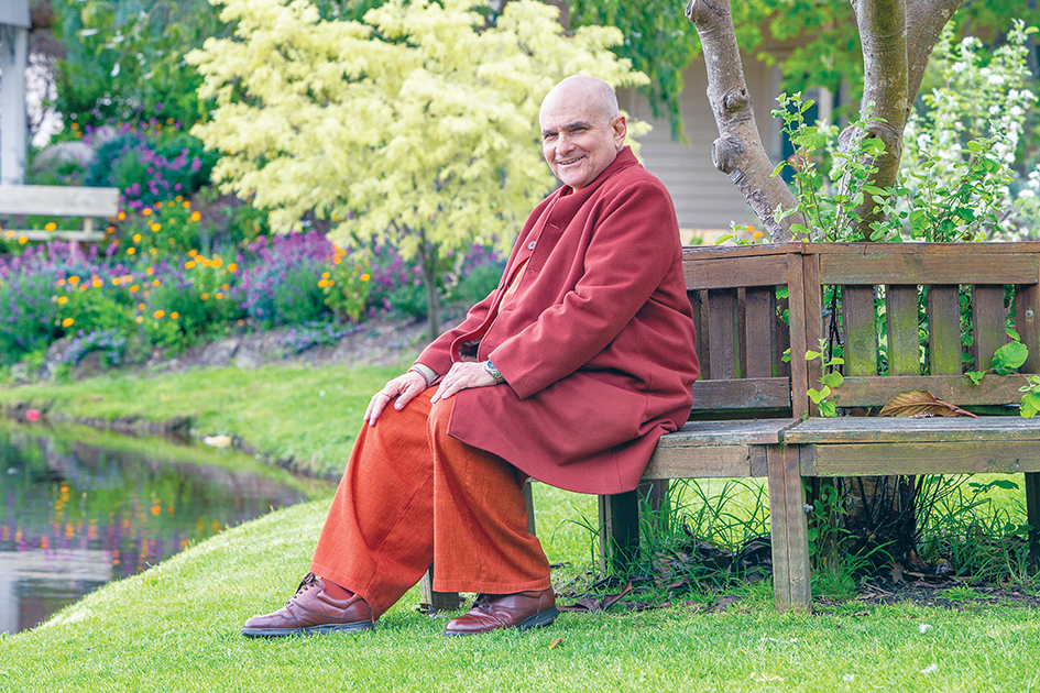 """Apology: Swami Shankarananda has apologised for the """"disastrous effect"""" his actions have had on members of the Shiva School of Meditation and Yoga at Mt Eliza. Picture: Gary Sissons"""