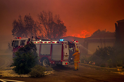 Hastings Fire 3rd January 2015