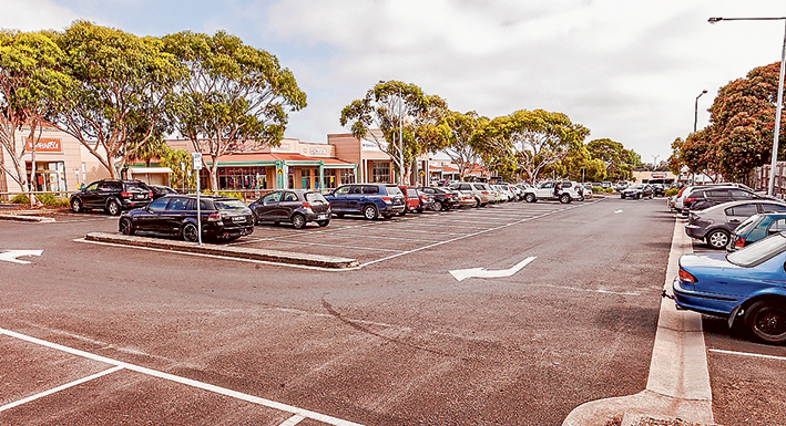 New HQ?: The shire bought Rosebud Central shopping centre in 2012 as an alternative site for an aquatic centre and is now looking at options for its redevelopment including a super office for all staff. Picture: Yanni
