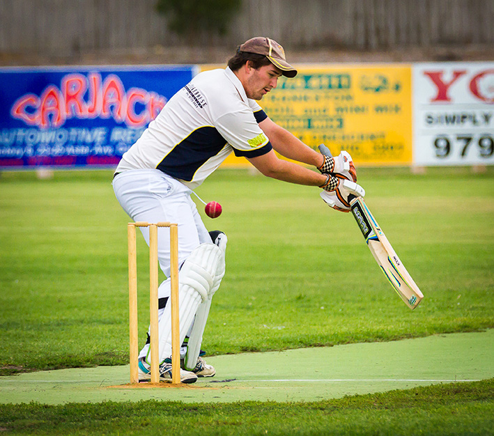 The Main men: Main Ridge beat Seaford Tigers by nearly 80 runs. Picture: Andrew Hurst
