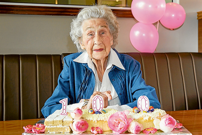 100th Phyllis Maggs