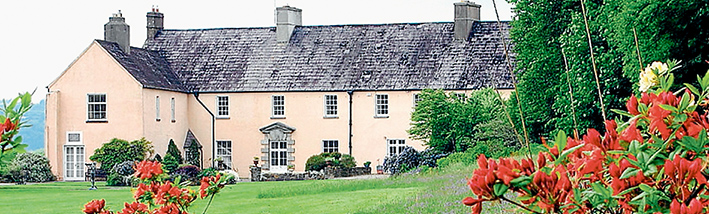 Naming rights: Existing links between Dromana House in Ireland and the same-named township on the Mornington Peninsula will be further strengthened when Graham and Prue Pittock travel to the Emerald Isle for a FitzGerald family celebration.