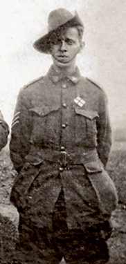 Right: Sergeant Raymond Everard Bartram