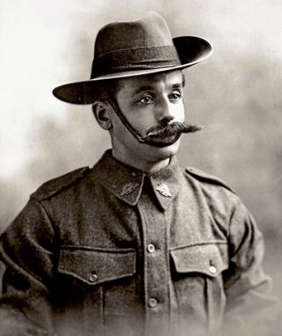 Lance Corporal Reginald Percy Bartram.