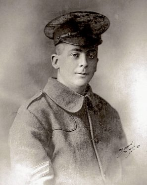 Above: Private Cyril George Bartram.