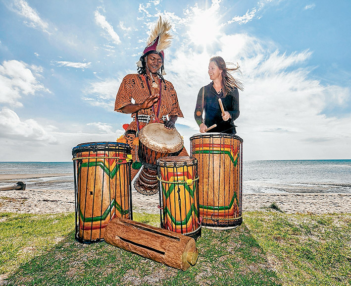 AFRICAN DRUMMING 24-04-2015 BY YANNI 02
