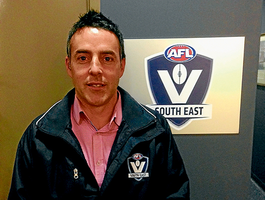 Duty bound: AFL South East general manager Jeremy Bourke says the governing body will help clubs if the MPNFL board resigns.