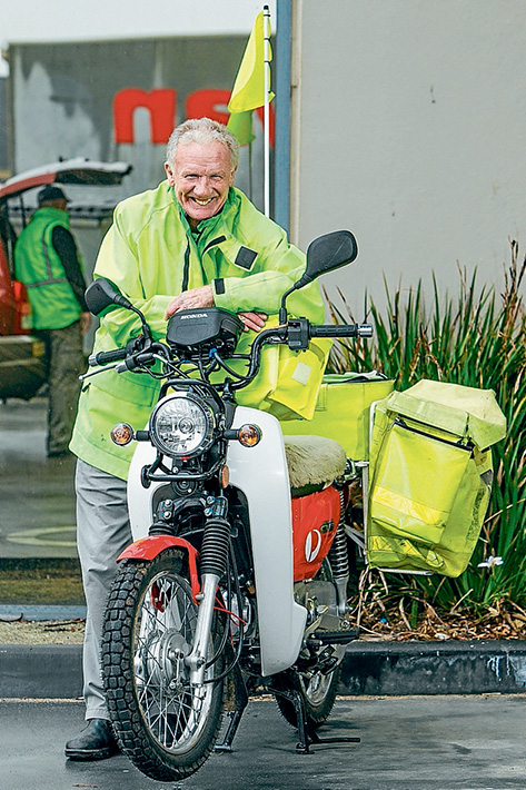 Tried and true: Mornington postie Ray Garlick will notch up 50 years on the job next month. Picture: Gary Sissons