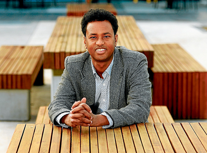 Story of survival: Refugee Abdi Aden will talk about his struggle to reach Australia.