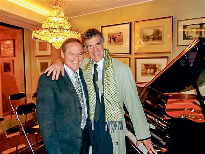 Key masters: Alan Kogosowski and Allan Zavod, whose keyboard talents have brought international acclaim, perform in Mornington this month and Frankston in September.
