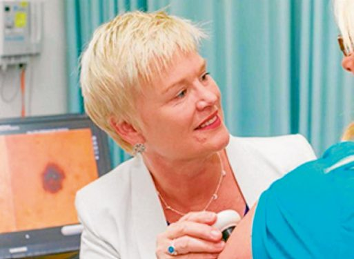 Missed message: Dr Sally Shaw says the media missed the chance to highlight melanoma dangers.