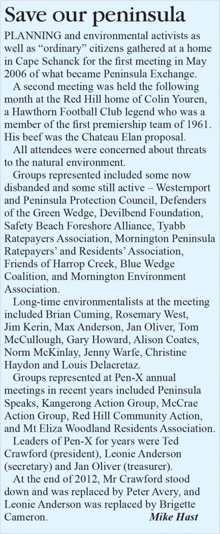 save our peninsula