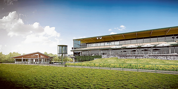 Art of racing: An artist's impressions of the changes being made at Mornington Racecourse with $2 million from the state government and $3m of the club's own money.