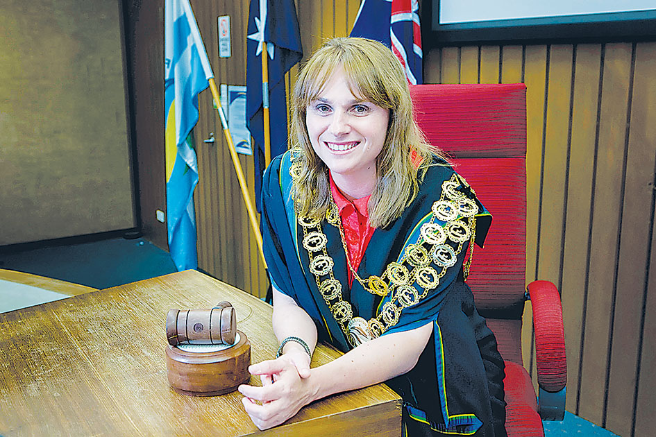 New head: Frankston mayor Sandra Mayer is chair of the South East Melbourne Group of Councils.