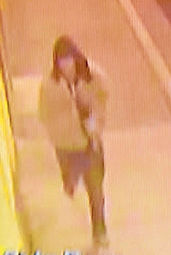CCTV image: A photo of a man police wish to speak to over the attempted break-ins.
