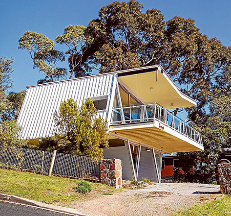 Awarded: McCraith House, also known as Dromana Butterfly House, has won a heritage award for recent work that included veranda railing. Picture supplied