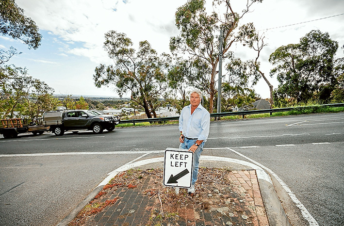 """THE $1 million being spent on roundabouts on Wooralla Drive at the St Kilda and Brighton streets intersections, Mt Eliza, is a waste of money, a resident claims. """"It seems like there's no shortage of cash floating around if the shire is planning to build two unnecessary additional roundabouts,"""" Greg Dixon, of Tower Rd, said. """"This mad obsession with destroying roads in the name of some imaginary Black Spot program will increase the danger of this particular section of a key arterial connecting road – particularly as the visibility in both directions is already hampered by an unkempt verge. """"It will do nothing to enhance the safety of pedestrians or cyclists wishing to walk or ride along the road."""" Dunkley MP Bruce Billson said the Black Spot-funded works would make the road safer. It comes with other grants for a roundabout on Humphries Rd at Walkers Rd ($619,000) and kerbs and bike lanes on Barkly St, Mornington, at Herbert St ($181,000). """"Together with $74,000 from Frankston City, the $1.94 million allocation to Dunkley roads in this round will target intersections and sections of road with significant accident and injury history,"""" he said. The Wooralla Drive and Humphries Rd roundabout projects are designed to reduce collisions involving motorists, cyclists and pedestrians due to excessive speed. The Barkly St project will ensure drivers recognise the Herbert St intersection through improved sight distance. """"The chosen projects represent works that deliver the highest benefit to the community for the funds involved,"""" Mr Billson said. """"I have long been advocating for funding to improve safety on local roads, particularly in Mt Eliza where there has been some troubling motorist and pedestrian safety concerns – unfortunately involving fatalities."""" Mr Dixon asked: """"Where's the data supporting the argument for either or both, and when will we get our walking/cycling track? """"They have obviously never used the road and I have never seen an accident there and I use the r"""