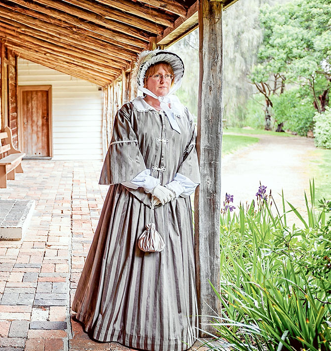Time out: McCrae Homestead manager Sharon Bowen has left after seven years in the role and most volunteers have departed with her. The National Trust is calling for new volunteers. Picture: Yanni