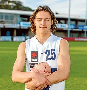 Harder, better, faster, stronger: Luke Davies-Uniacke has ticked every box on his journey to a possible AFL playing career. Picture: Yanni