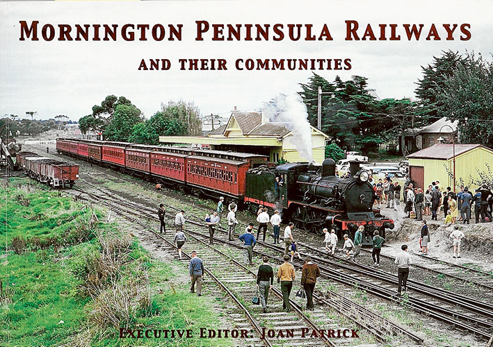 Steam days: A vintage train arrives at Mornington station during a Sunday summer excursion in 1966. Picture courtesy Mornington and District Historical Society's book Mornington Peninsula Railways (editor: Joan Patrick)