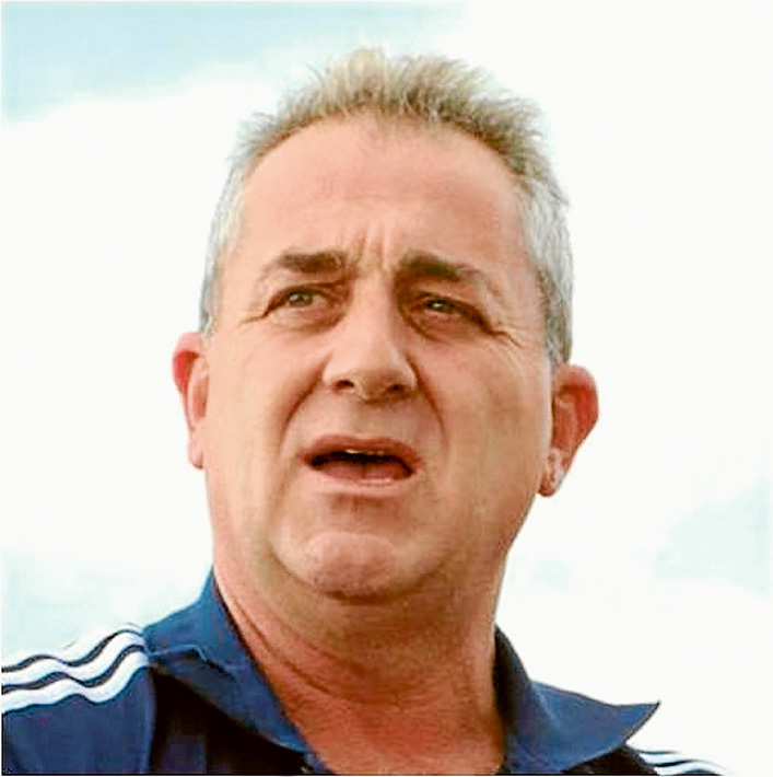 Shocked: Strikers president Mark Brandon is still coming to grips with the robbery.