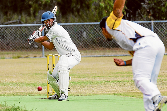Going: Hastings scored 173 for YCW to chase. Picture: Andrew Hurst