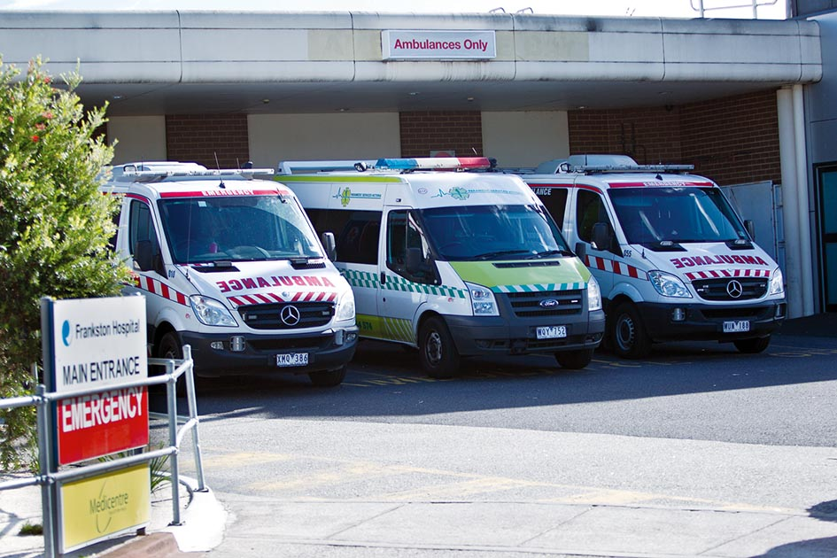 Emergency situation? A stoush over funding for Peninsula Health has broken out between the state and federal governments.