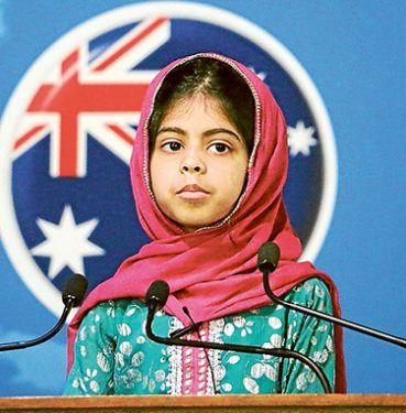 Fatima Usman speaks about being an Australian. Pictures: Supplied