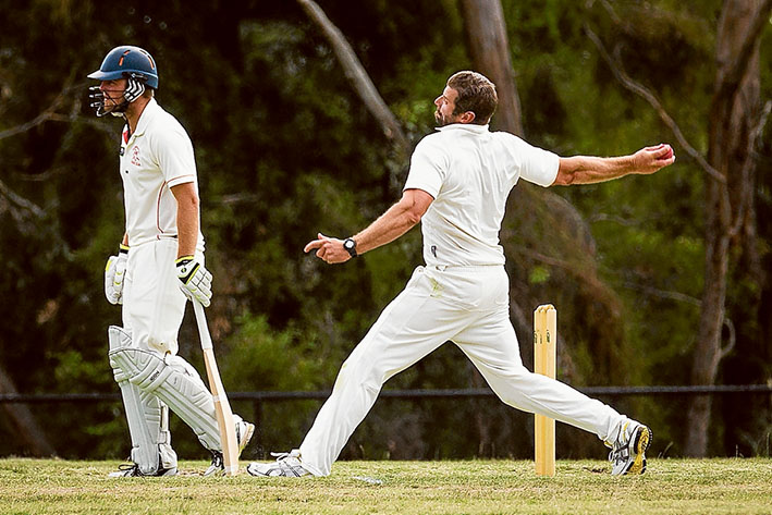 Final countdown: Peninsula Old Boys will meet Somerville in the final round next week. Picture: Andrew Hurst