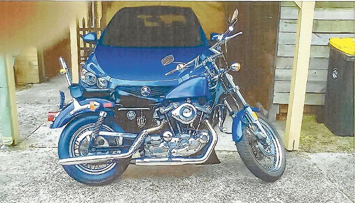 stolen motorbike FT