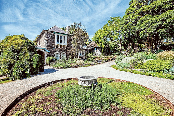 Gardeners' delight: Heronswood at Dromana, home to the Diggers Club, is holding a harvest festival, the first since a fire razed the property's cafe two years ago. Picture: Yanni