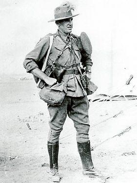 Hugo Throssell V.C. of the 10th Light Horse.