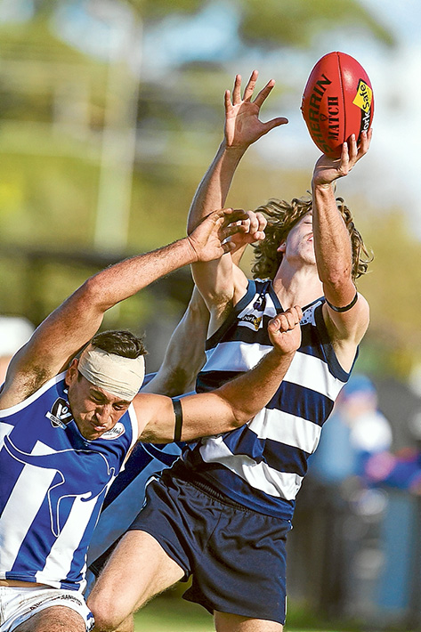 Taking the chocolates: Chelsea made light work of Langwarrin, running out 45 point winners. Picture: Scott Memery
