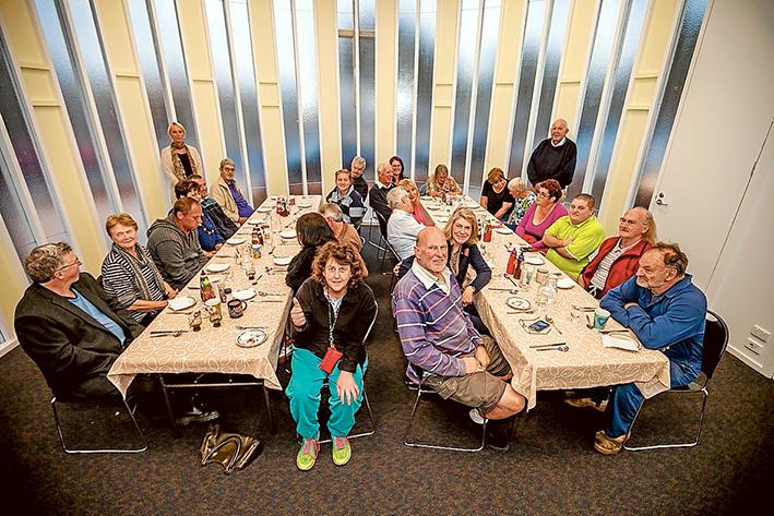 Bon appetit: Diners enjoy being part of the Mornington Community Meals program. Picture: Yanni