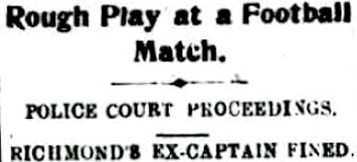 The report in the Mornington Standard, 7 September, 1912.