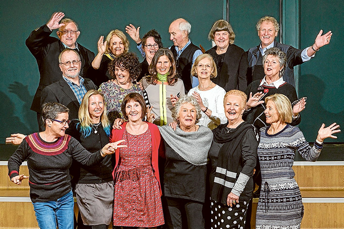 On song: Mornington Peninsula Chorale is gearing up for performances at Carnegie Hall, New York next year.