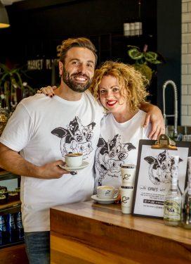Stylepirate Cafe John and Charlotte Zaccardi