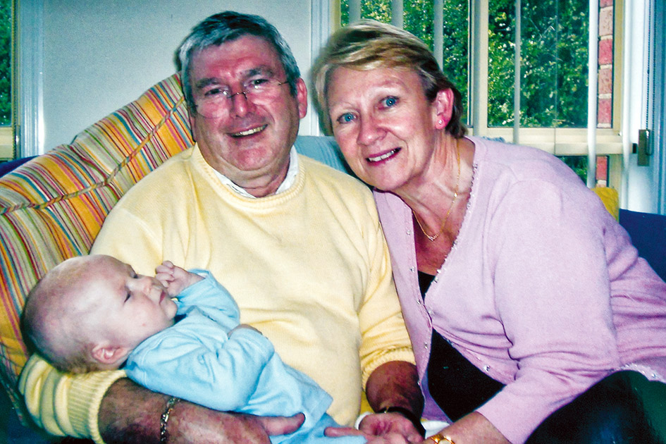 Loving, and much loved: Dermot O'Toole's murder has devastated his family and friends and left a lasting scar on the community.
