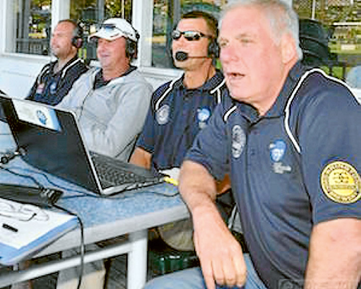 Calling it the way they see it: Neil Williams (right) will be back at the helm of the RPPFM Cricket Show, kicking off on October 15. Picture: RPPFM
