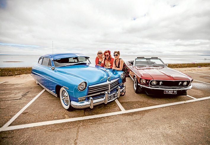 A celebration of all things Cars, Music and Fashion. Picture: Yanni