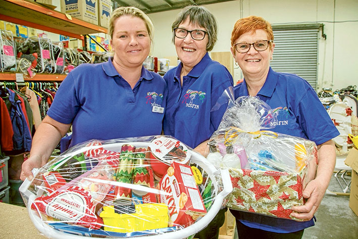 Team work: Jodie Harris and her team are mums who make a difference. Picture: Gary Sissons