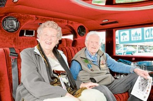 Anne Scott, 90 and Keith Rae, 99.